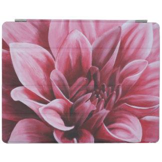 Painted Dahlia Flower iPad Cover