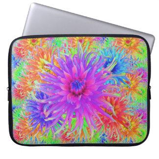 Painted Dahlias Laptop Sleeve