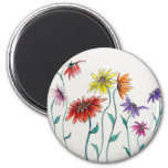 Painted Daisies Magnet