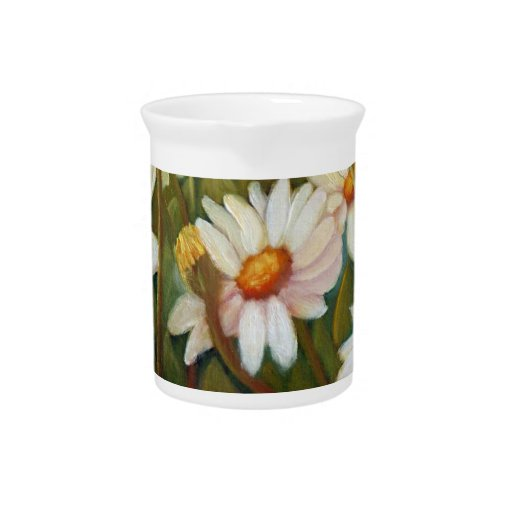 Painted Daisies Pitchers
