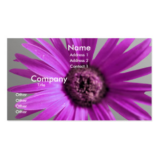 Painted Daisy Business Card