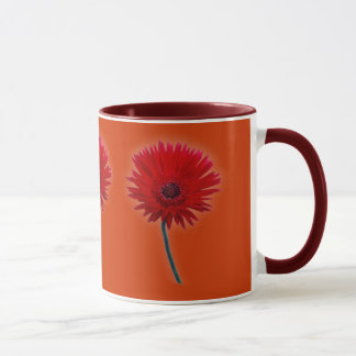 Painted Daisy Mug