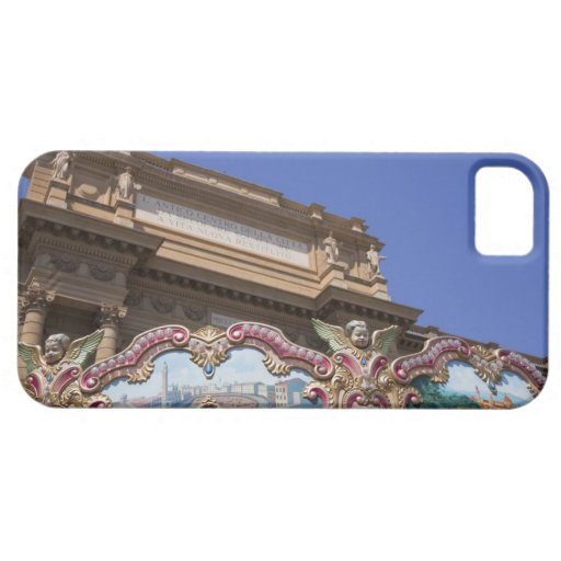 painted decorative carousel with pictures of iPhone 5 cases