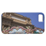 painted decorative carousel with pictures of iPhone 5 cover