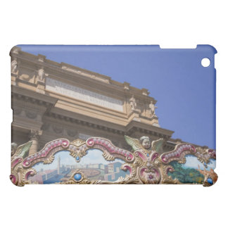 painted decorative carousel with pictures of iPad mini covers