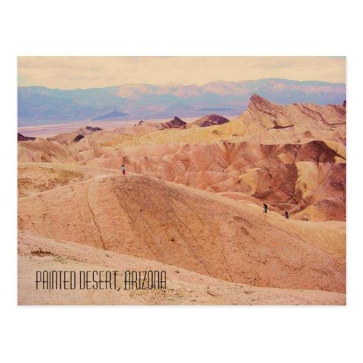 Painted Desert, AZ Postcard