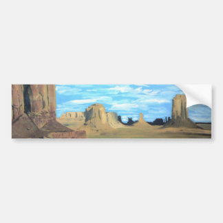 Painted Desert Bumper Sticker