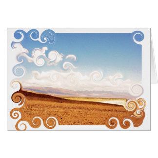 painted desert card