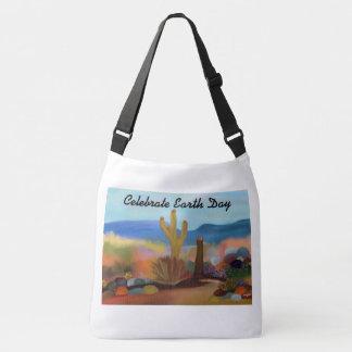 Painted Desert Earth Day Crossbody Bag