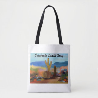 Painted Desert Earth Day Tote Bag