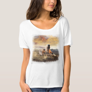Painted Desert Horse Boyfriend T-Shirt See Options