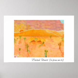 Painted Desert (in prae sen ti) Poster
