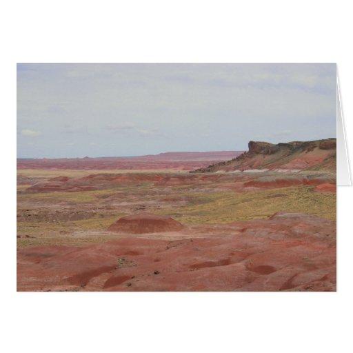 Painted Desert Landscape card