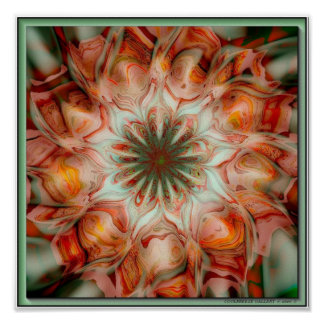 PAINTED DESERT LILY POSTER