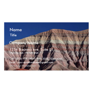 Painted Desert North Of Flagstaff Double-Sided Standard Business Cards (Pack Of 100)