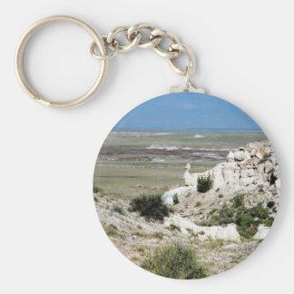 Painted Desert scene 02 Key Chain