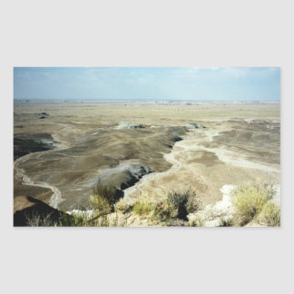 Painted Desert scene 04 Rectangular Sticker