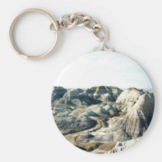 Painted Desert scene 05 Basic Round Button Keychain