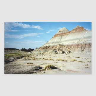 Painted Desert scene 06 Rectangular Sticker