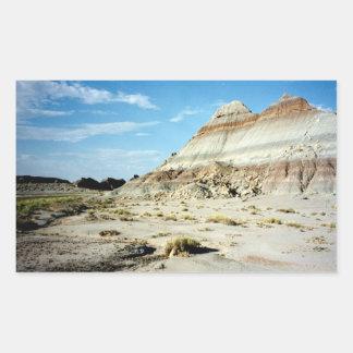 Painted Desert scene 06 Rectangular Sticker
