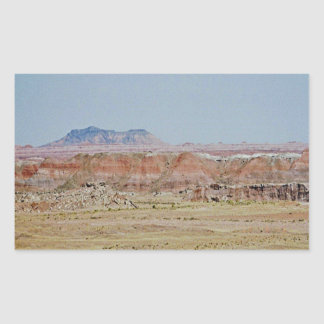 Painted Desert scene 07 Rectangular Sticker