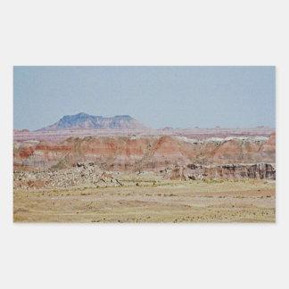 Painted Desert scene 07 Rectangular Sticker