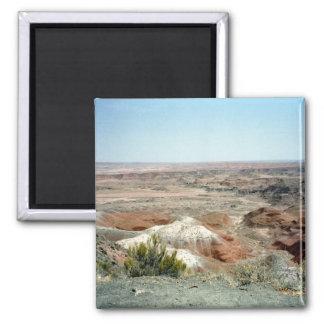 Painted Desert scene 08 2 Inch Square Magnet