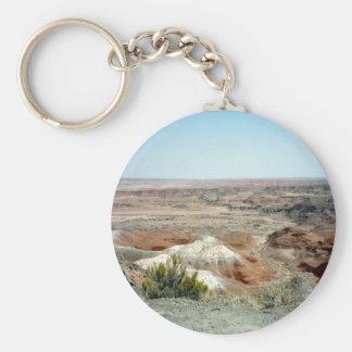 Painted Desert scene 08 Basic Round Button Keychain