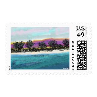 Painted Desert Sky Stamp