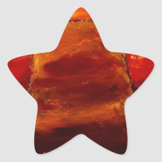 Painted Desert Star Sticker