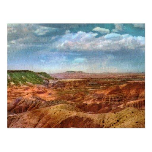 Painted Desert Vintage Postcard