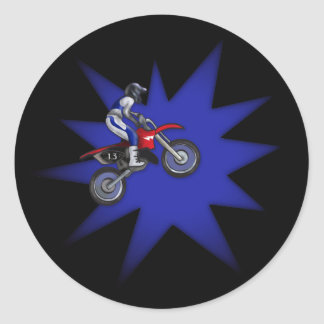 Painted Dirt Bike Sticker