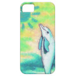 Painted Dolphin iPhone 5 Case