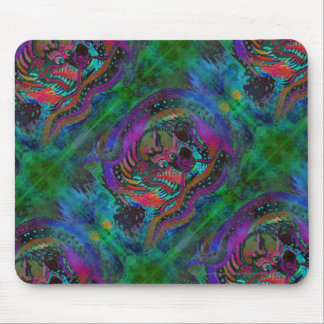 Painted Dragon Mouse Pad