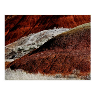 PAINTED DUNES LANDSCAPE WITH RED HILL POSTCARD