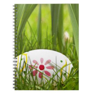 Painted Easter Egg Custom Photo Notebook