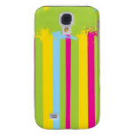 Painted Easter Stripes Samsung Galaxy S4 Cover