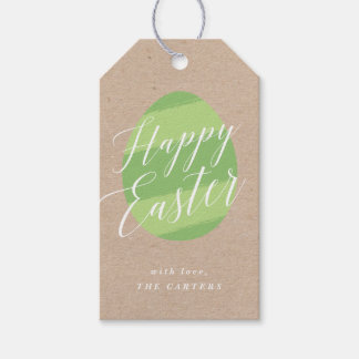 Painted Egg Easter Gift Tag