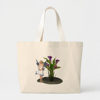 painted fairy. tote bag