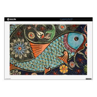Painted Fish Laptop Skins