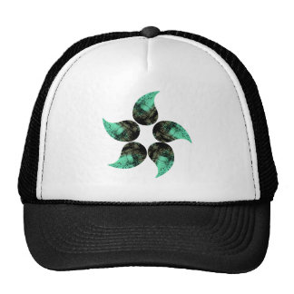 Painted Flower Trucker Hat