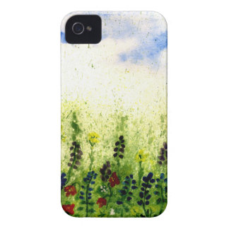 Painted Flowers Feild2 iPhone 4 Cover