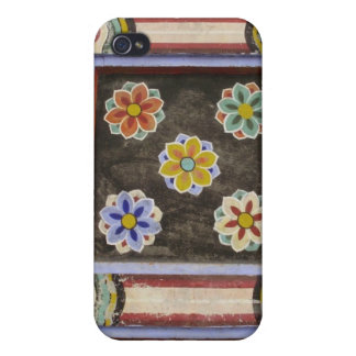 Painted Flowers iPhone 4 Case