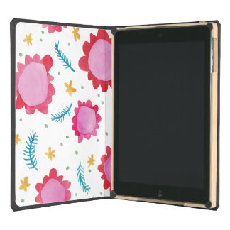 Painted Flowers red iPad Air DODOcase iPad Air Case