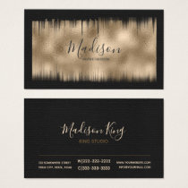 Painted Foil Bronze ID522 Business Card