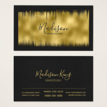 Painted Foil Gold ID522 Business Card