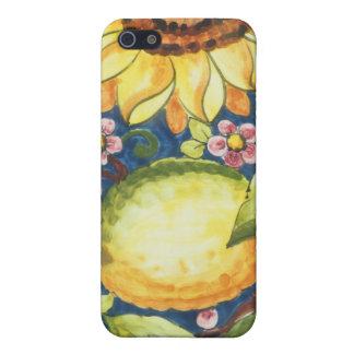 Painted Folk Art  Sun Flower iPhone SE/5/5s Case