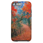 Painted Forest Trail Autumn Flame iPhone 6 case