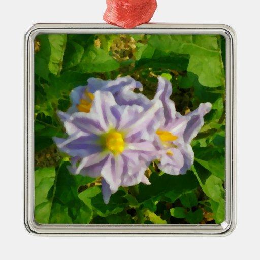 Painted Garden Ornament