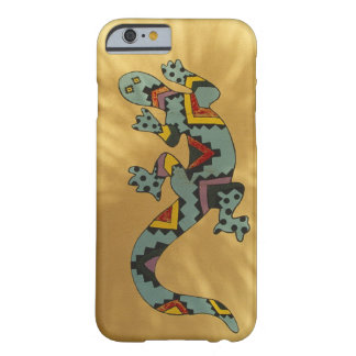 Painted gecko lizard on wall, Tucson, Arizona, Barely There iPhone 6 Case